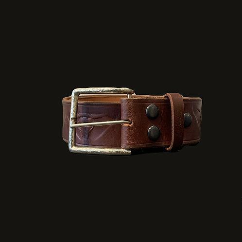 Cinturón Cuño Toro Hebilla Simple