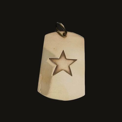 Placa Estrella Bronce