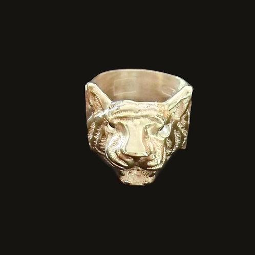 Anillo Tigre Silver
