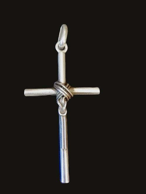 Cruz Nudo Silver M