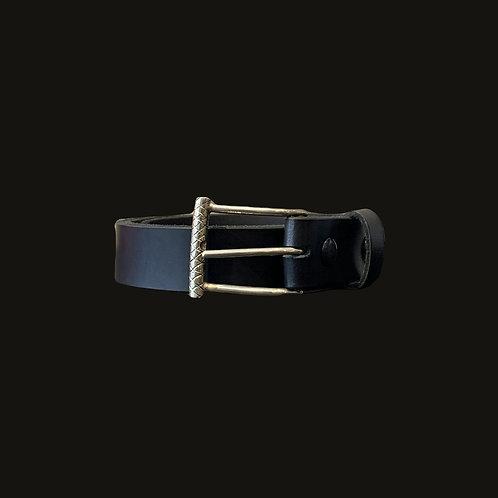 Cinturón 3 cms Liso Hebilla Simple