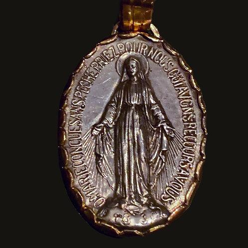 Virgen de los Rayos Bicolor G
