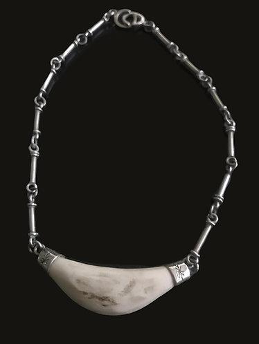 Collar Jabalí S Silver