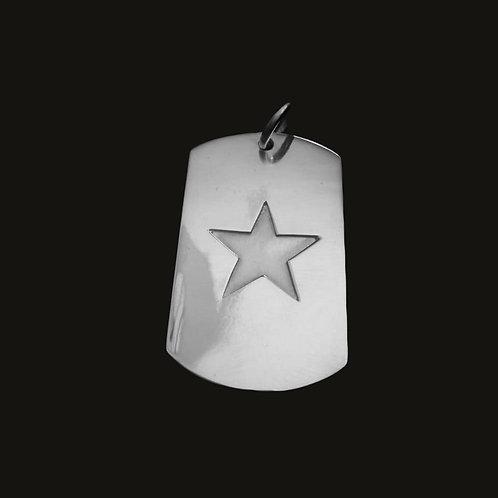 Placa Estrella Silver