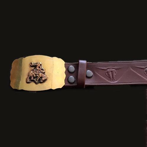 Cinturón gaucho bronce
