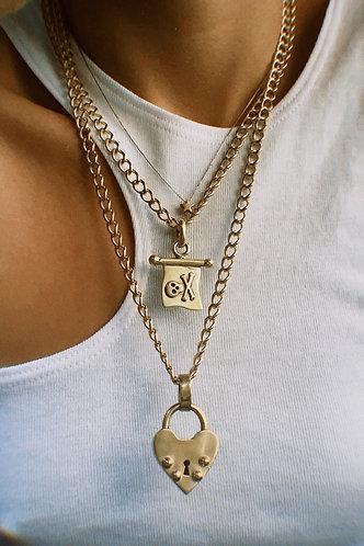 Cadena Grumet 45 cms Goldfilled