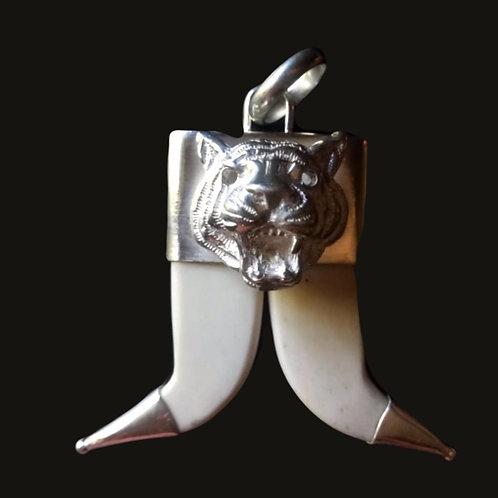 Cacho Doble Tigre Silver