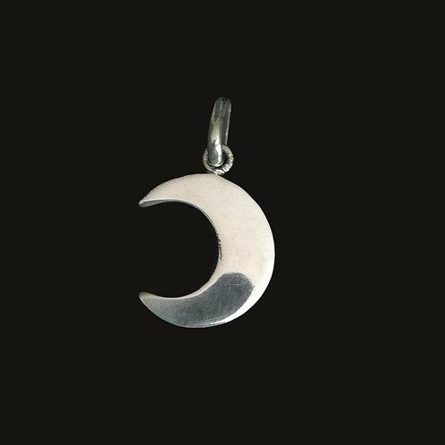 Colgante Luna S Silver