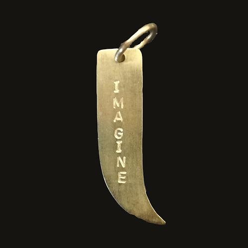 Colgante Ají S bronce