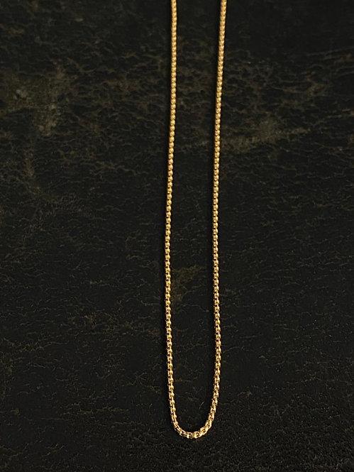 Cadena Box XS 40 Cms Goldfilled