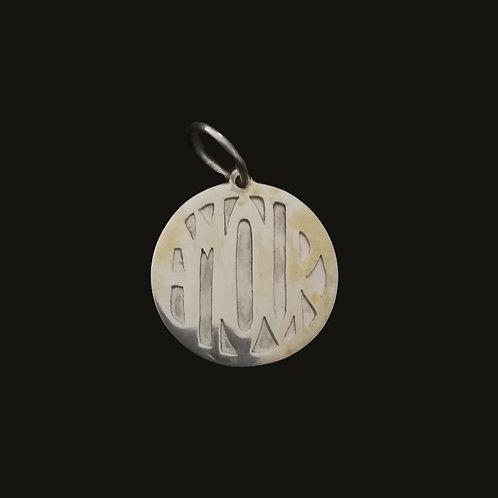 Medalla Calada AMOUR Silver