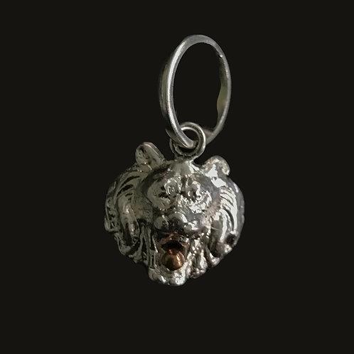 Colgante León Silver