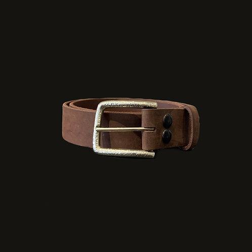 Cinturón Liso 3.5 cms Hebilla Simple