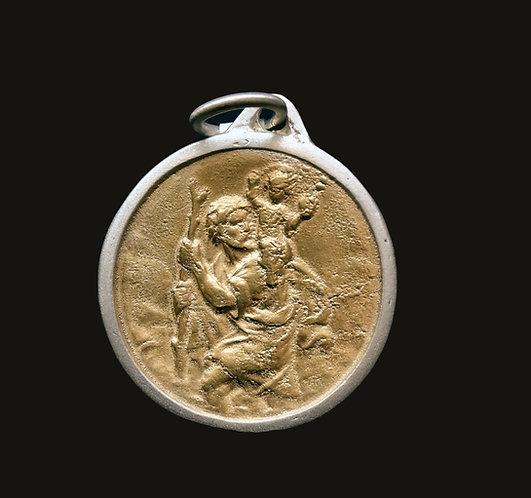 Medalla San José Bicolor