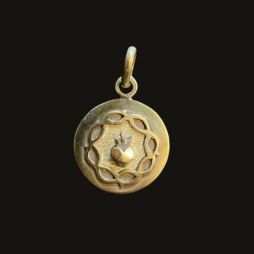 Medalla Sagrado Corazón Bronce