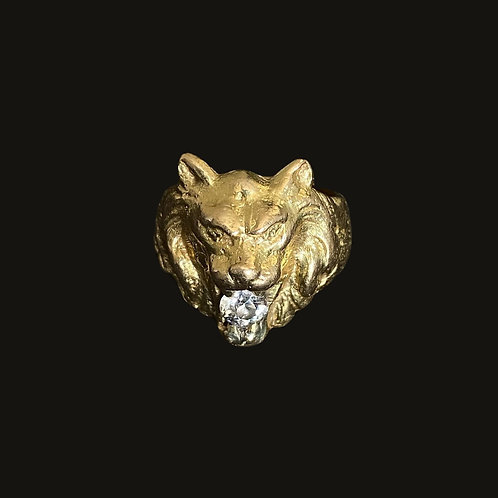 Anillo León S Gold