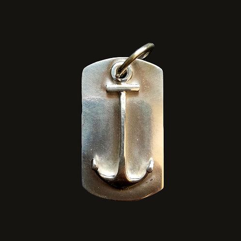 Placa Ancla Silver