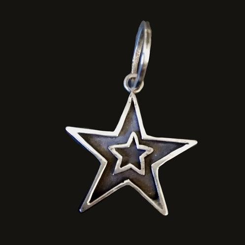 Estrella S Doble Negra Silver