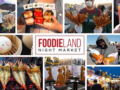 FoodieLand Night Market - Berkeley | October 8-10
