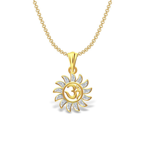 Beautiful Stylish Designer Latest OM Pendant