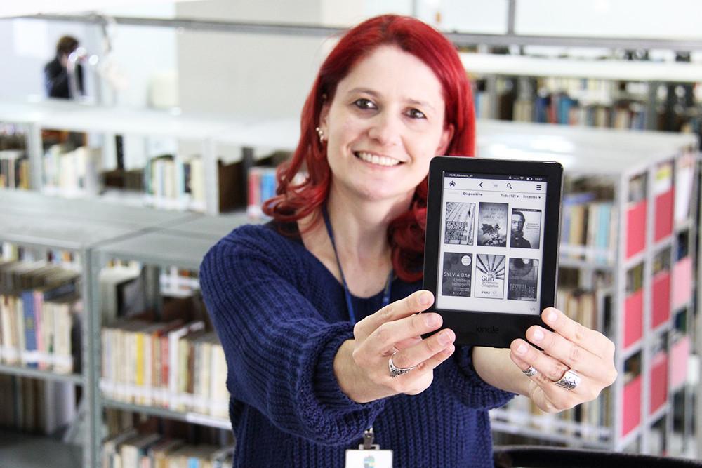 Projeto de empréstimo de e-readers será apresentado na Feira do Livro