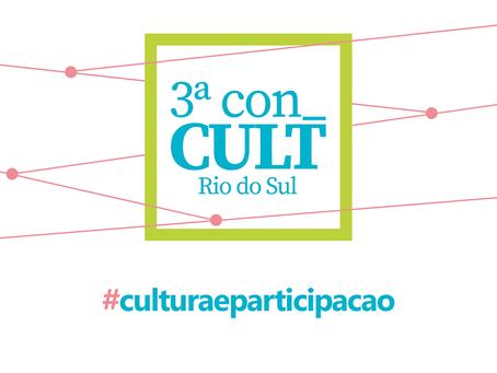 Conferência vai definir o Plano Municipal de Cultura de Rio do Sul