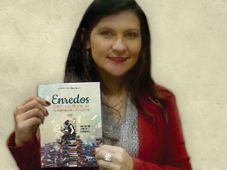 Escritora Silvia Paulo apresenta obras na Biblioteca Pública de Rio do Sul
