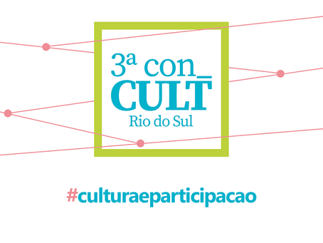 Rio do Sul realiza 3ª Conferência de Cultura