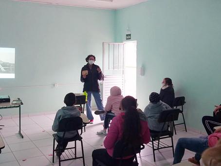 Projeto realiza atividades sobre a história da Estrada de Ferro Santa Catarina