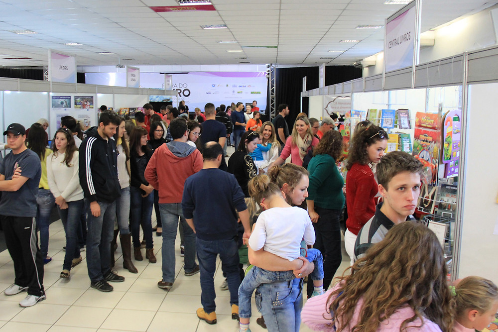 Feira do Livro de Rio do Sul soma cerca de 19 mil visitantes | Foto: Tiago Amado