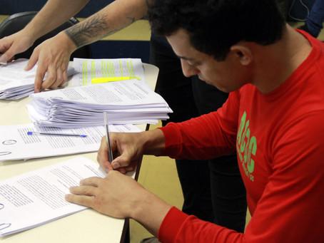 Contemplados no Prêmio Nodgi Pellizzetti de Incentivo à Cultura assinam contratos dos projetos