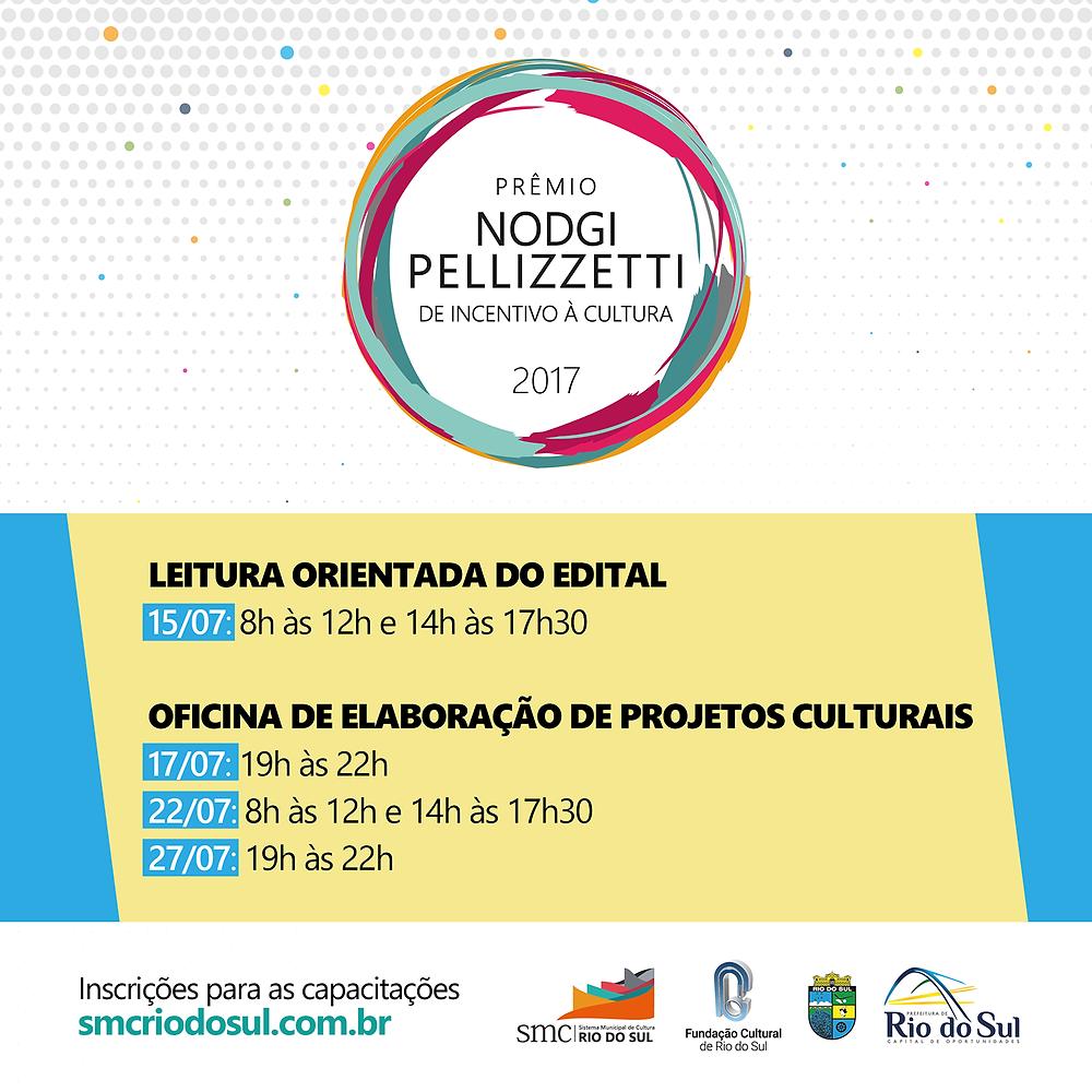 Capacitação e Leitura Orientada do Edital informam sobre o Prêmio Nodgi Pellizzetti