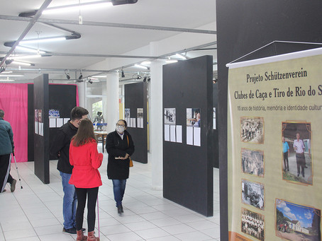 Exposição Fotográfica Schützenverein retrata a história dos Clubes de Caça e Tiro