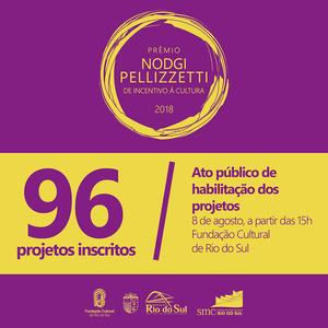 Ato público de abertura dos envelopes dos projetos será na quarta-feira, 8 de agosto, na Fundação Cultural