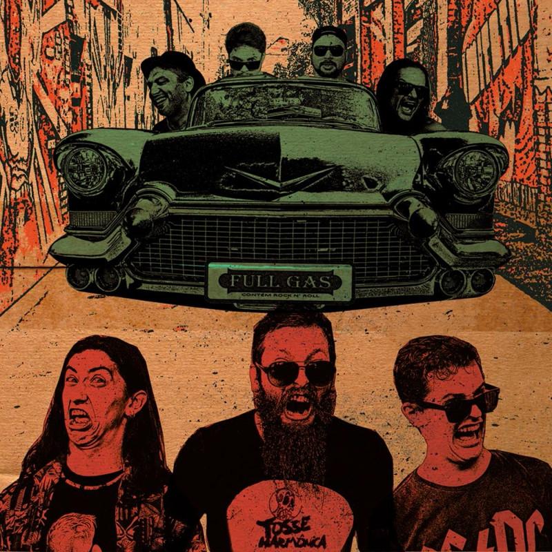 Bandas rio-sulenses lançam álbum conjunto com show no sábado, dia 24