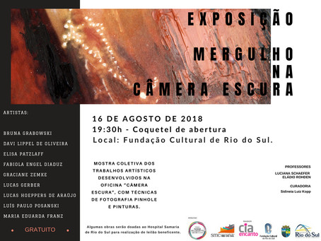 Exposição Mergulho na Câmera Escura apresenta obras de fotografia e intervenções de pintura