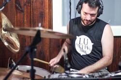 Gravação do CD de Músicas Autorais da banda Luthiness