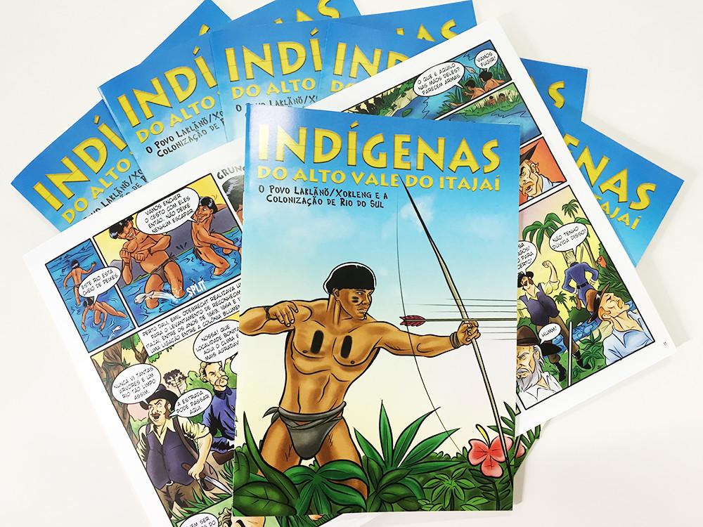 Lançamento da obra será na Feira do Livro de Rio do Sul, dia 16 de setembro