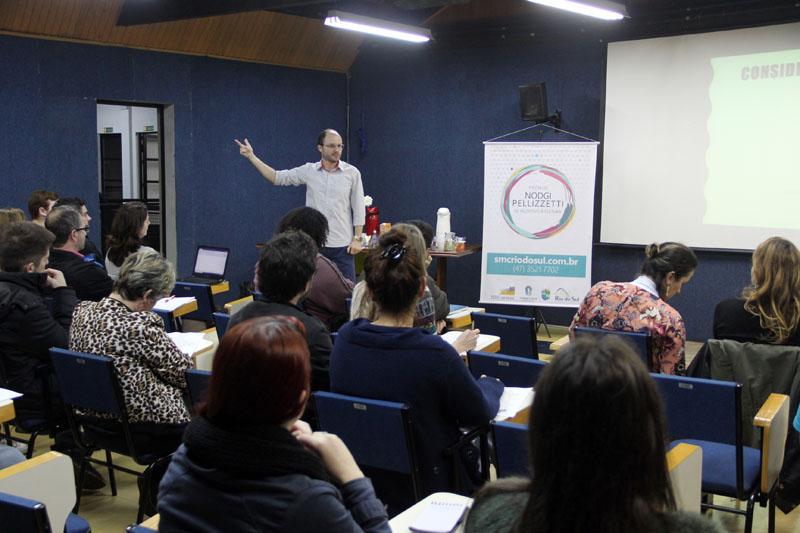 Oficina de Projetos Culturais com Dirceu Leite - 2018 | Foto: Tiago Amado