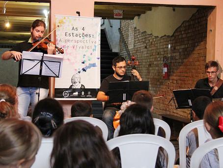 Música erudita para crianças - Projeto As Quatro Estações: A Perspectiva de Vivaldi