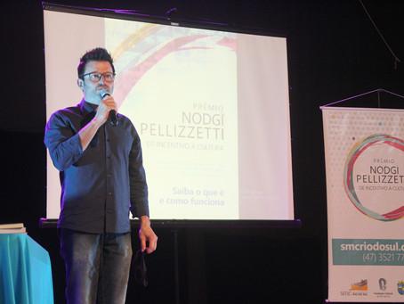 Prêmio Nodgi Pellizzetti de Incentivo à Cultura 2021 abre inscrições