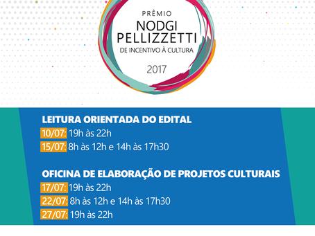 Capacitações orientam sobre o Prêmio Nodgi Pellizzetti de Incentivo à Cultura