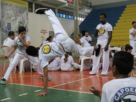 Projeto difunde a capoeira em Rio do Sul