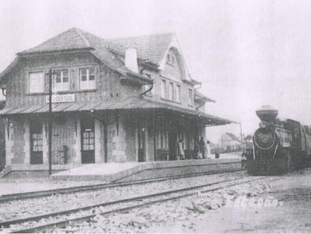 Projeto realiza atividade sobre a história da Estrada de Ferro Santa Catarina no bairro Taboão