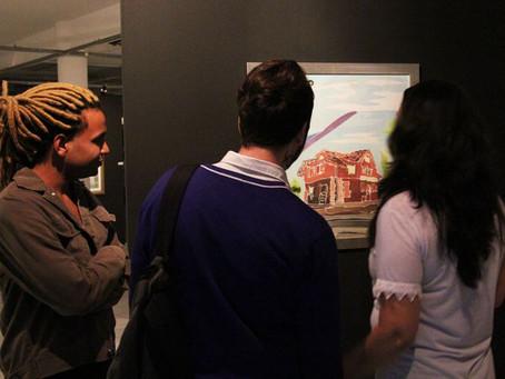 Exposição Arte Cidade apresenta pinturas inspiradas em Rio do Sul