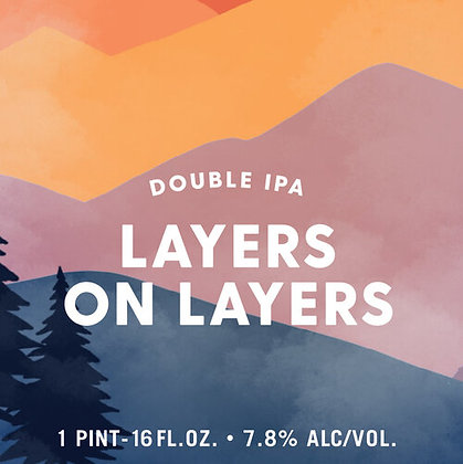 Untold Layers On Layers - Double IPA
