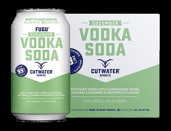 Cutwater Cucumber Vodka Soda