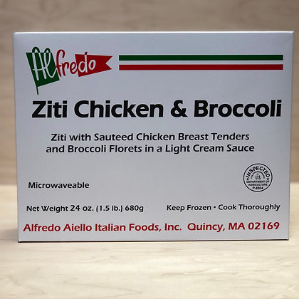 Alfredo Ziti Chicken & Broccoli