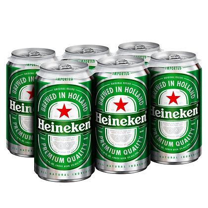 Heineken 6pk.