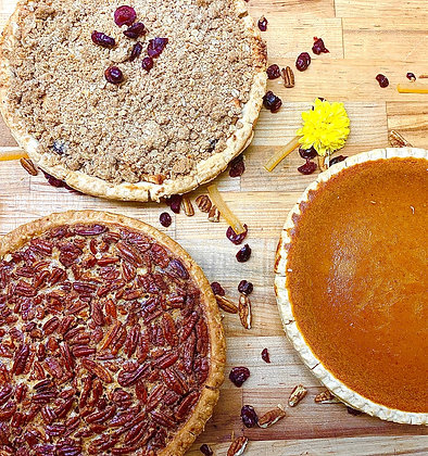 Pain D'Avignon Thanksgiving Pies